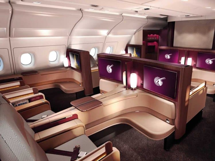 First-class prices allow airlines to discount tickets and offer promotions.